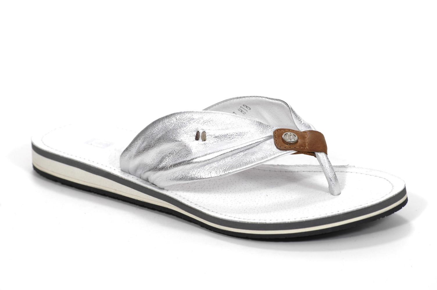 5707435dfc776 Japonki Nessi 49504 Srebrne Butybuk - internetowy sklep obuwniczy ...