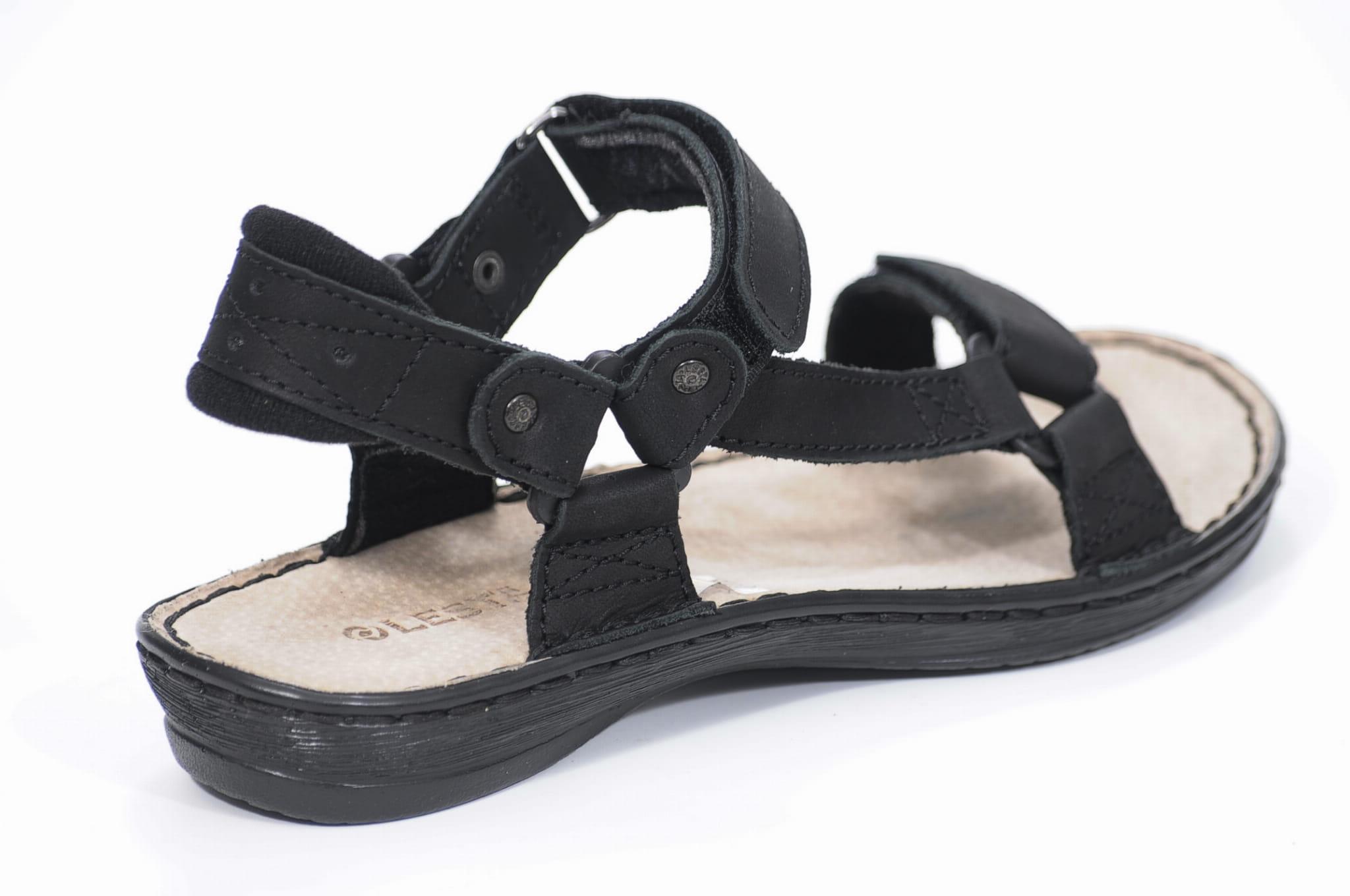 f7c0e8227b003 Sandały Lesta 1165 Czarne Butybuk - internetowy sklep obuwniczy ...