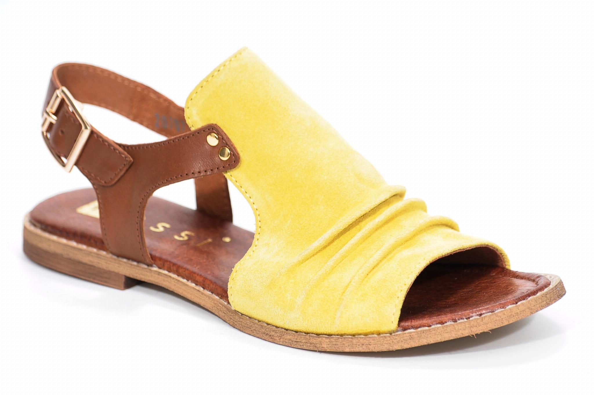 Sandały NESSI 20707 żółty Butybuk internetowy sklep